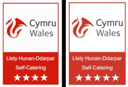 Wales Cymru 4 and 5 Star Self Catering