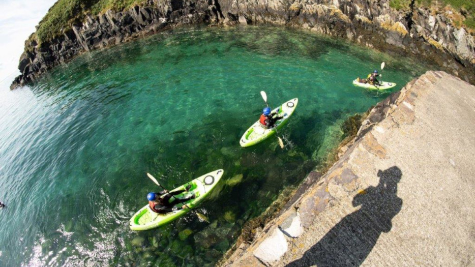 Canoes-at-Porthglais