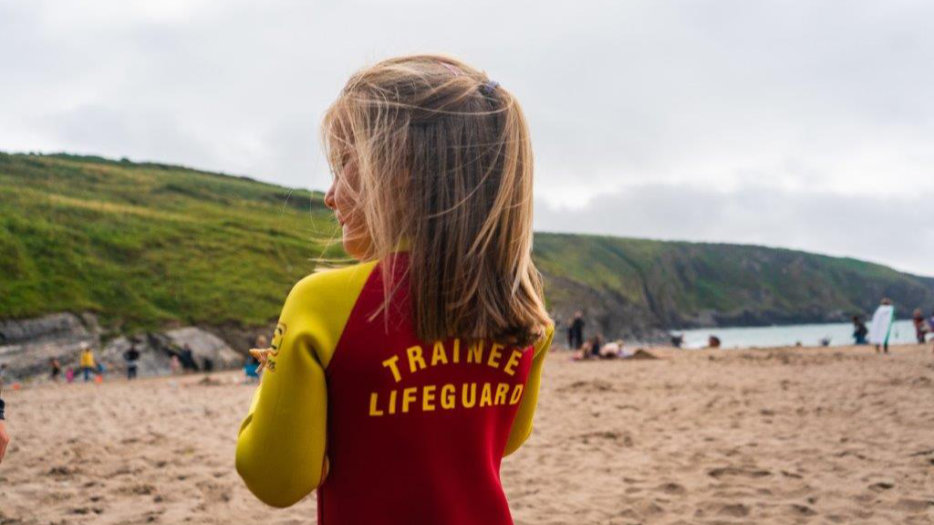 Trainee-lifeguard